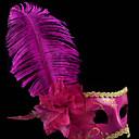 Maska cosplay Festival/Svátek Halloweenské kostýmy Fuchsiová Jednobarevné Maska Halloween / Karneval / Nový rok Unisex PVC