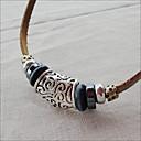 muške kože ručno vintage startni ogrlicu (duljina: 45cm)