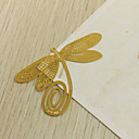 Zinkové slitiny Praktické ODMĚNY záložky do knížky a otvírače dopisů Zahradní motiv Zlatá