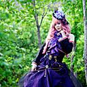 Inspirovaný Vocaloid Megurine Luka Video Hra Cosplay kostýmy Cosplay šaty Patchwork Fialová Vrchní deska
