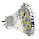 4W GU4(MR11) LED reflektori MR11 9 SMD 5730 430 lm Toplo bijelo DC 12 V