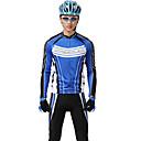 mysenlan pn mesh + flex materiál s dlouhým rukávem pohodlné pánské cyklistické oblečení