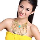 Performance Dancewear Tassels Design Belly Dance Necklace For Ladies