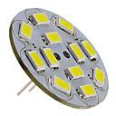 6W G4 LED reflektori 12 SMD 5730 570 lm Prirodno bijelo DC 12 V