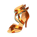 Ženske - Plesne cipele - Latin / Balska sala - Satin - Stiletto Heel - Zlato