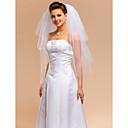 Vjenčani velovi Četiri-tier Elbow Burke Cut Edge 31,5 u (80cm) Til Slonovača Retka, Ball haljina, princeza, Plašt / stupac, Truba / sirena