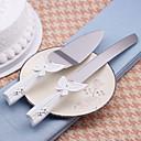 posluživanje setovi svadbena torta nož lijep leptir dizajn kolač nož / poslužitelj set