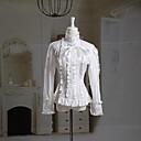 Dugi rukav bijelog pamuka Classic Lolita Bluza