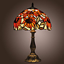 Tiffany stilu suncokreti brončana djelo stolna lampa (0923-tf3)