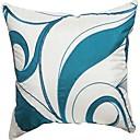 スタイリッシュな葉の刺繍のポリエステル装飾的な枕カバー