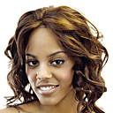 Čipka Front Kvalitetni sintetičke valovite kose perika više boja Dostupan