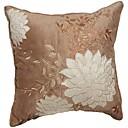 twopages® kůže / semiš polštář kryt ozdobený&vyšívané tradiční