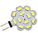3W G4 LED2本ピン電球 12 SMD 5730 270 lm ナチュラルホワイト DC 12 V