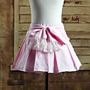 nabrane koljeno duljine ružičaste pamučne slatka Lolita suknja
