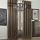 twopages® dva panely bambusové vlákno klasický faux pokoj setmělou oponu