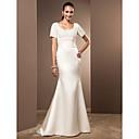 Lanting Bride® Mořská panna Drobná / Nadměrné velikosti Svatební šaty - Elegantní & moderní / Okouzlující & dramatické RetroVelmi dlouhá