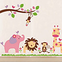 Přátelský zoo Wall Sticker
