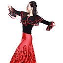 Dancewear Velvet Latin Dance Top Za dame