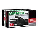 Disposable Black Nitrile Gloves Medium Size