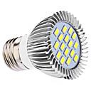 daiwl E27 5w 16x5630smd 400-450lm 6000-6500k přirozené bílé světlo LED Spot žárovka (110 / 220V)
