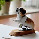 Idyllic Village Hand-Carved Solid Lime Wood Dog Stapler