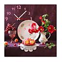 """12 """"-24"""" country stylu plodné nástěnné hodiny v plátně"""