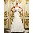 Lanting Bride® Haljina sa širokom suknjom Sitna / Veći brojevi Vjenčanica - Klasično i svevremensko / Elegantno i luksuzno Do podaBez
