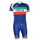 KOOPLUS® Biciklistička majica s kratkim tregericama Uniseks Kratki rukav BiciklQuick dry / Vjetronepropusnost / Vodootporni patent /