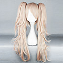 Cosplay Wigs Dangan Ronpa Junko Enoshima Roza Medium Anime / Video Igre Cosplay Wigs 65 CM Otporna na toplinu vlakna Female
