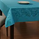 Europski stil plavi cvjetni uzorak jacquard poliestera stolnjak