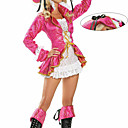 Cosplay Nošnje / Kostim za party Gusari Festival/Praznik Halloween kostime Narančasta Čipka Kaput / Haljina / Šešir Halloween Ženka