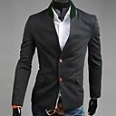 Black snění Uomo Pánské podzim 2013 Nový model korejské Single Prsa Slim Fit Tweed Suit