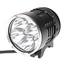 自転車用ライト / 自転車用ヘッドライト LED Cree XM-L T6 サイクリング 充電式 18650 4800 ルーメン バッテリー サイクリング-ダークナイト