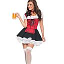 Oktoberfest Pivo Girl šněrovací top Maid Uniform