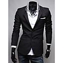 Seey Muška crnom tkaninom Pocket Osobnost Suit