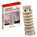 Visoke klase 3D Kosi toranj u Pisi Shape zagonetke