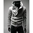 MSUIT Muška Hoodie Zipper svijetlo siva majica