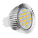 daiwl MR16 5W 16x5630smd 420-450lm 2500-3500k toplo bijelo svjetlo LED spot žarulja (220-240V)