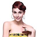 優雅な女性の1PCSファッションクリップフリンジヘアーエクステンション(3カラー)前髪