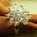 Crystal ubrousek Ring, Akryl