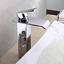 jednog ručka moderni masivni mesing slap kupaonica sudoper slavine (visoka)
