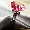 Dijamantni prsten za salvete Ring Set 12, Crystal Wire Dia 4,5 cm