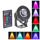 10W LED podvodní světla 1000LM Vodotěsné Flood lampy s vypouklými skleněné čočky (12-18V)