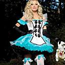 Cosplay Kostýmy Pohádkové Festival/Svátek Halloweenské kostýmy Patchwork Šaty / Vlasové ozdoby / Rukavice Halloween / Karneval / Nový rok