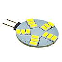 5W G4 LED reflektori 15 SMD 5630 330 lm Hladno bijelo DC 12 V