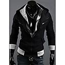 LJCP Trendy Kos Zipper Projektiranje Dlaka (crna)