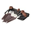 18Pcs Kozmetički Brush Set sa Crnom PU Case