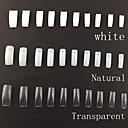 500 profesionalnih korejski standardi pola i lažni akril nail art savjeta (assorted bojama, 50pcsx10 veličine gradnje mješovite)