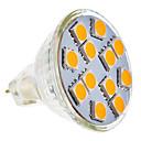 4W GU5.3(MR16) LED reflektori MR11 12 SMD 5050 210-250 lm Toplo bijelo AC 12 V