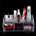 Kutija za šminku Plastična kutija / Kutija za šminku Plastic / Akril Jednobojni 23.0 x 9.0 x 11.0 Neocakljen porculan